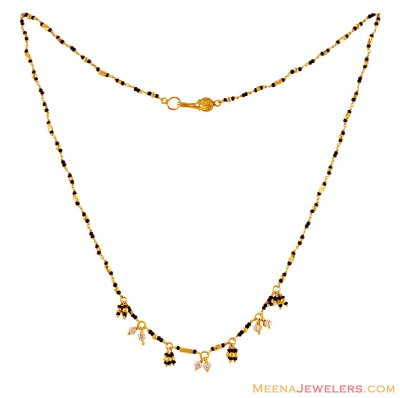 22k Gold Mangalsutra Fancy Hangings ( MangalSutras )
