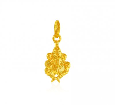 22Kt Gold Vinayaka Pendant ( Ganesh, Laxmi and other God Pendants )