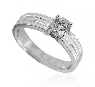 18KT White Gold Diamond Ring  ( Diamond Rings )