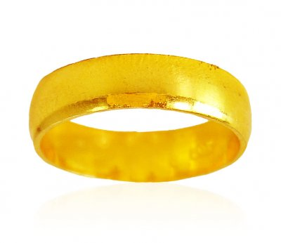 22 kt Gold Simple wedding Band ( Wedding Bands )