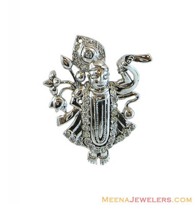 18k Lord Shree Nath Ji Pendant ( Ganesh, Laxmi and other God Pendants )