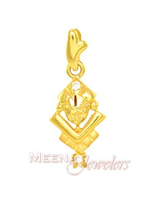 22kt Gold Lord Balaji Pendant ( Ganesh, Laxmi and other God Pendants )