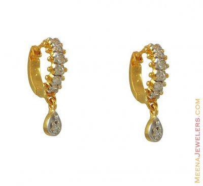 Clip On Earring With Hanging(22k) ( Clip On Earrings )