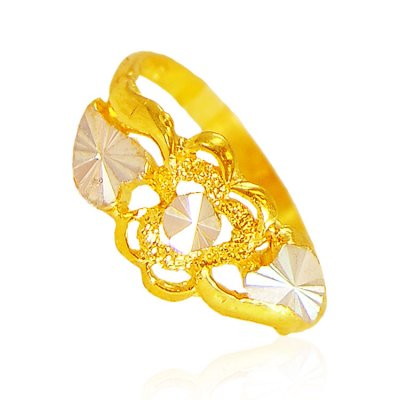 22Kt Gold Ladies Ring ( Ladies Gold Ring )