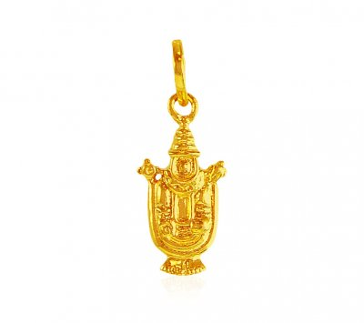 22 Karat Gold Balaji Pendant ( Ganesh, Laxmi and other God Pendants )