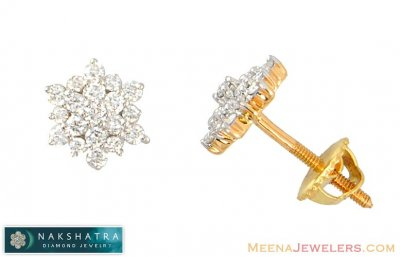 Nakshatra Diamond Earrings ( Diamond Earrings )