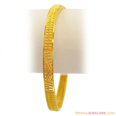 22K Gold Bangle(1 Pc) ( Gold Bangles )