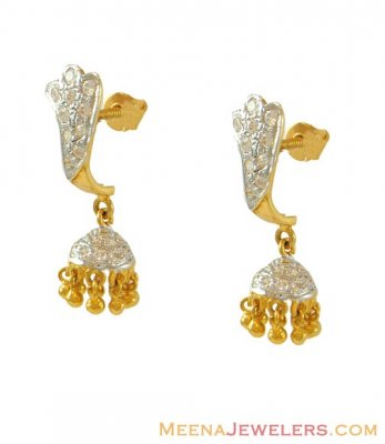Diamond Chandelier Earrings | Diamond District Jewelers