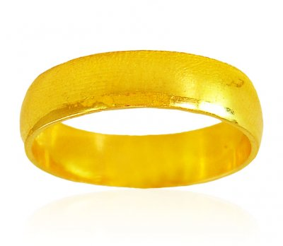 22K Gold Plain Band  ( Wedding Bands )