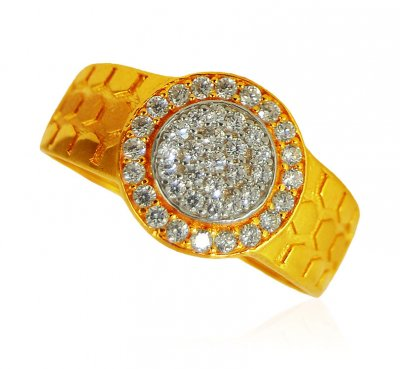 22k Gold Mens Stones Ring ( Mens Signity Rings )