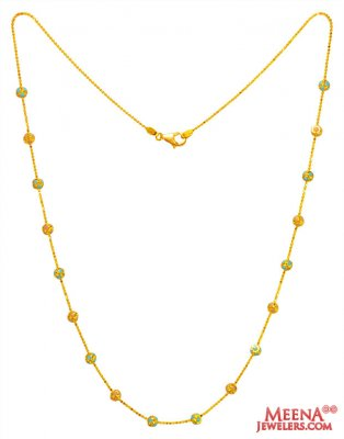 22K Gold Chain ( 22Kt Gold Fancy Chains )