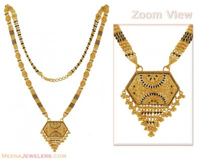 Gold Long Indian Mangalsutra ( MangalSutras )
