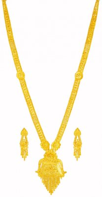 22karat Gold Necklace Set ( 22 Kt Gold Sets )