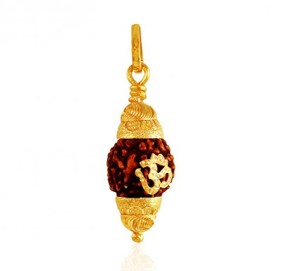 22K Gold Rudralsh pendant ( Ganesh, Laxmi and other God Pendants )