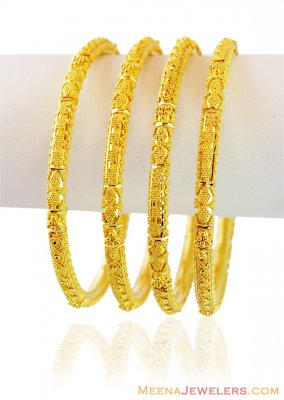 22k Exclusive Gold Bangles ( Set of Bangles )