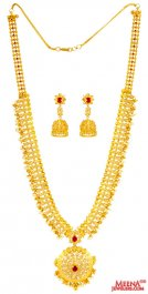 22 Kt Uncut Diamond 5 in 1 Necklace Set