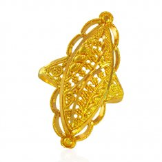 22k Gold Ring For Ladies
