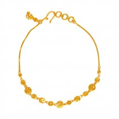 22Kt Gold Fancy Bracelet for Ladies ( Ladies Bracelets )