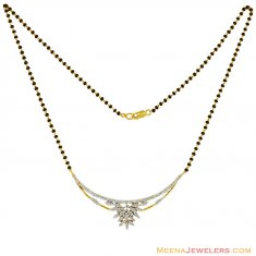 18K Exclusive Diamond Mangalsutra ( Diamond MangalSutras )