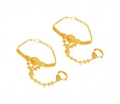 Fancy 22K Kids Gold Bracelet ( 22Kt Baby Bracelets )