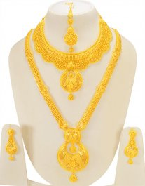 shree set design balkrishna pendant jewellers peacock ki heart proddetail with gold sone latkan