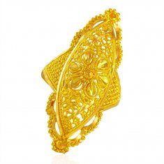 22k Gold Traditional Ladies Ring