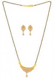 a1886c57da5 Gold Mangalsutra Sets - Collection of 18KT and 22KT Gold Mangalsutra ...
