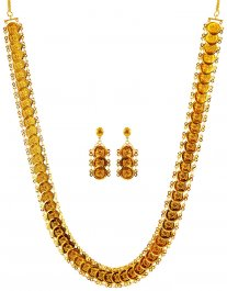 22Kt Gold Ginni Necklace Set