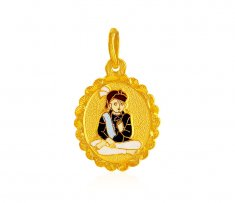 22K Swami Narayan Pendant ( Ganesh, Laxmi and other God Pendants )