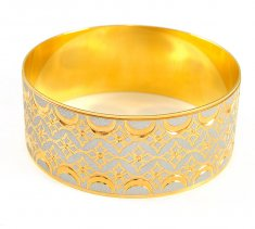 Gold 2 Tone Bangle ( Two Tone Bangles )