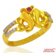 22K Gold Beautiful Ladies Ring