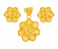 22Karat Gold Pendant Set ( Gold Pendant Sets )