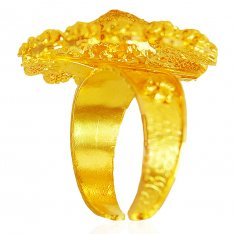 Adjustable 22K Gold Ring  ( Ladies Gold Ring )