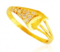 Fancy 22k Gold Ring