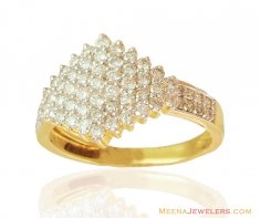 Exclusive Diamond Studded Ring 18k ( Diamond Rings )