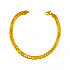 22Kt Gold Men Bracelet