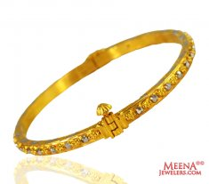 22k Fancy Ladies Gold Kada (1 pc)