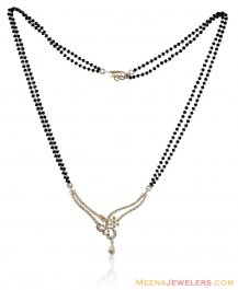 White Gold Diamond Mangalsutra ( Diamond MangalSutras )