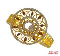 22 kt Gold Exclusive Signity Bangle ( Stone Bangles )