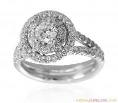 18k White Gold Diamond Ring ( Diamond Rings )