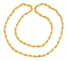 22K Gold Balls  Chain ( 22Kt Long Chains (Ladies) )