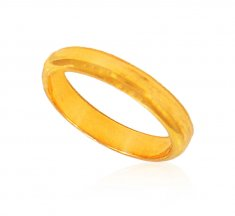 22Kt Yellow Gold Band