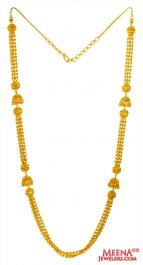 22K Gold Chandelier Long Chain  ( 22Kt Long Chains (Ladies) )