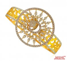Gold Fancy Kada ( Stone Bangles )
