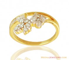 Fancy Diamond Rings 18K ( Diamond Rings )