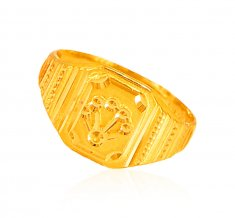 22kt Gold Mens Ring ( Mens Gold Ring )
