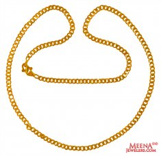 22Kt Gold Chain 22 Inches