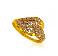 22 kt Fancy Stone Ring