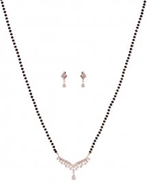 18K Gold Diamond Mangalsutra Set ( Diamond MangalSutras )