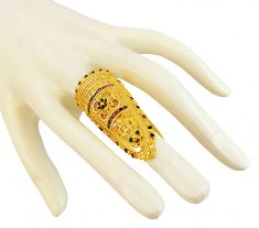 22K Gold Exquisite Ring ( Ladies Gold Ring )